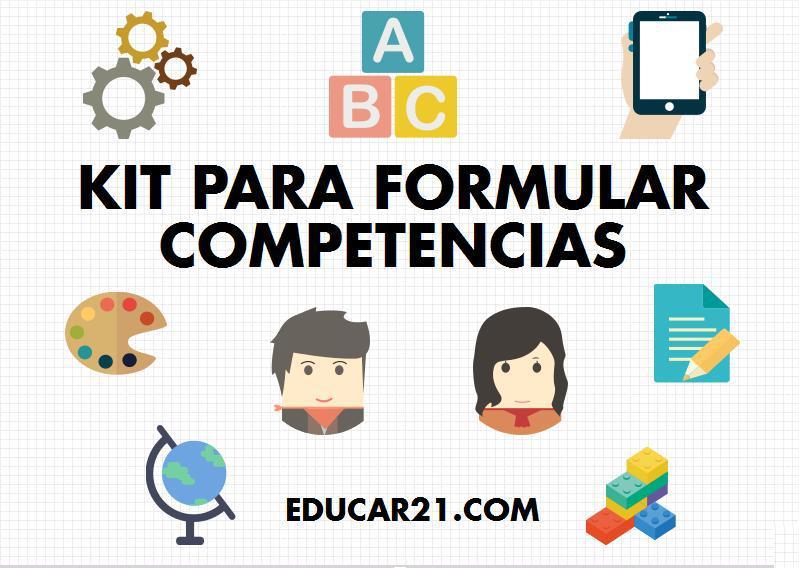 kit para formular competencias