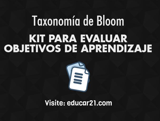 kit para evaluar objetivos de aprendizaje