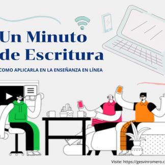 tutorial un minuto de escritura